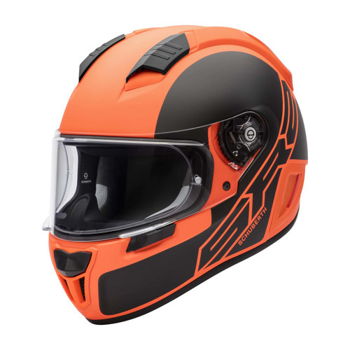 Helm Schuberth SR2 Traction oranje (130 2205 133)