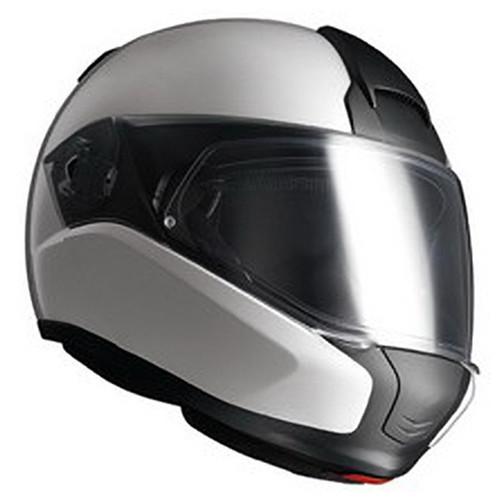 Helm BMW System 6 wit-zilver