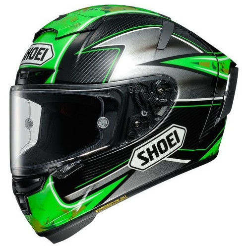 Helm Shoei X-Spirit III Laverty groen (11039035)