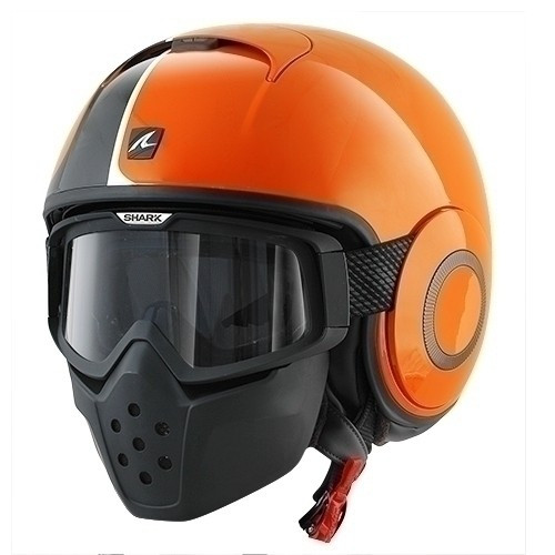 Helm Shark RAW Stripe HE3015E  OKO