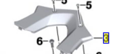 Bagagerek bovenste deel r 1200 r/rs lc, 46548556661