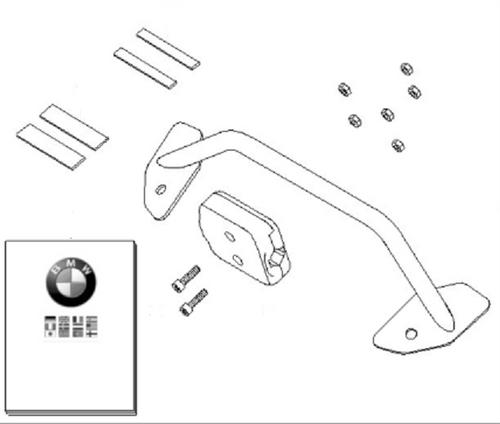 Set Houders en Klembevestiging BMW Navigator R 1200 RT, 71607708580