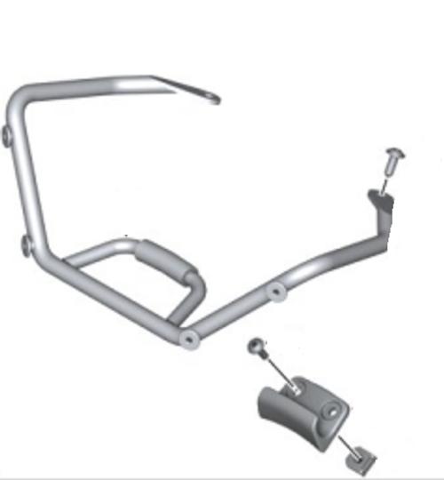 Set Aanbouwdelen Windscherm Sport BMW R 1200 R, 71607699566