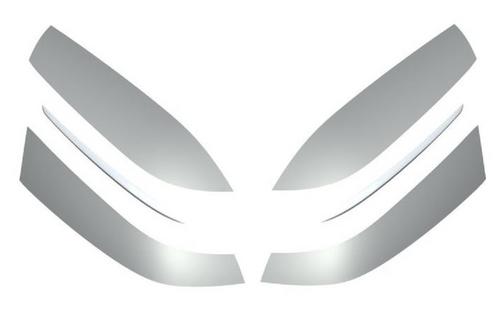 BMW Set beschermfolie toerkoffer links en rechts