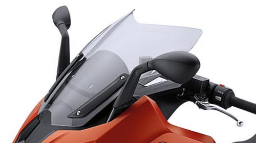 BMW C 650 Sport windscherm sport helder