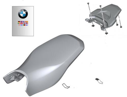 BMW Set Rallyestoel met Bagageplaat