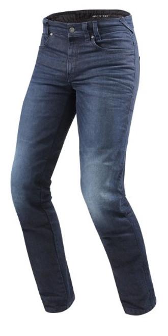 Revit Jeans Vendome 2 Blauw Voorzijde