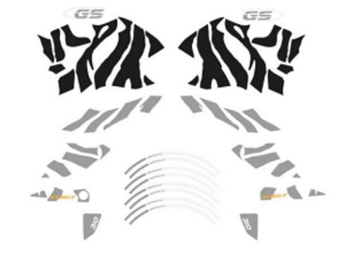 BMW G 310 GS Set stickers Design Zebra