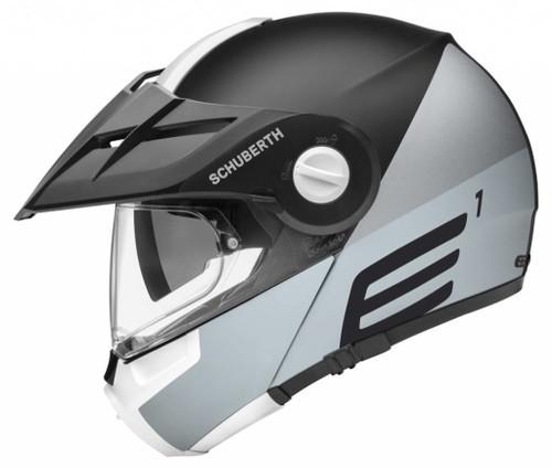 Helm Schuberth E1 Cut Grey