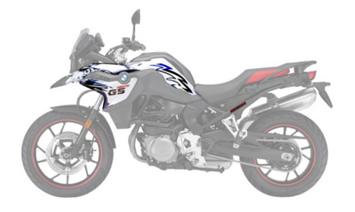 BMW F 750/850 GS Set stickers Desgin New Ways
