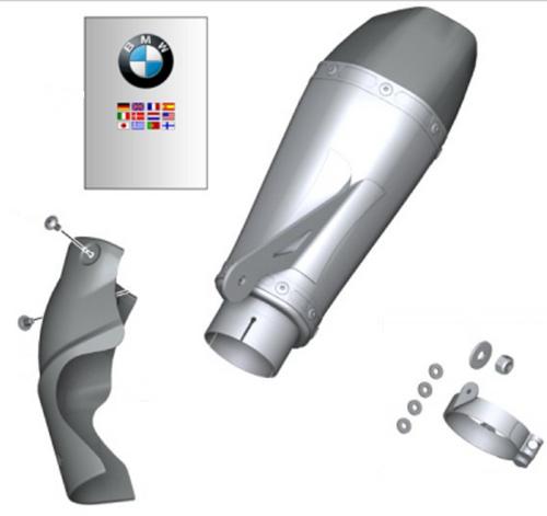BMW Akrapovic HP Sportdemper