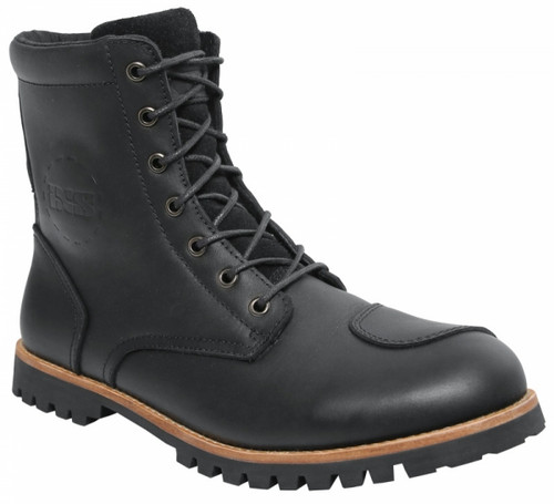 Schoen IXS Classic Schuh Oiled leather Zwart