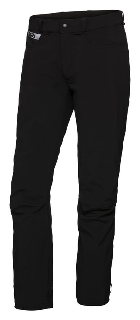Broek iXS Softshell Pants Function Zwart Voorzijde