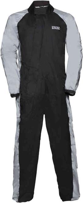 Regenpak iXS Orca zwart/grijs voorzijde