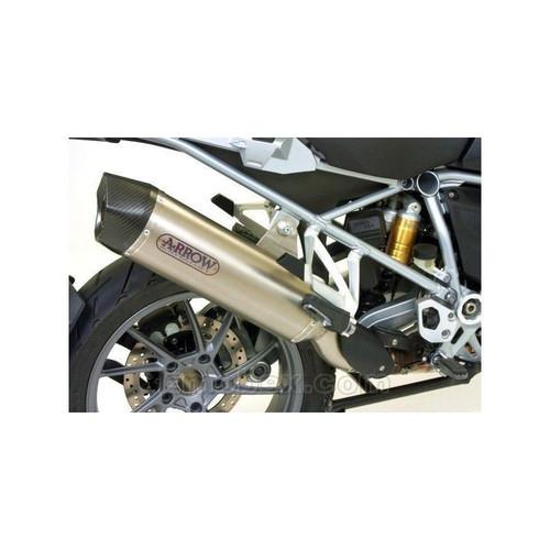 Titanium uitlaat demper Arrow | BMW R1200GS / R1250GS 2019