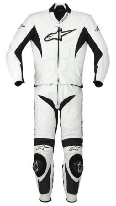 Combi Alpinestars SP-1  Zwart/Wit voorzijde