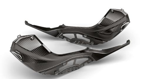 BMW S 1000 RR 2019 M carbon tankafdekking links en rechts