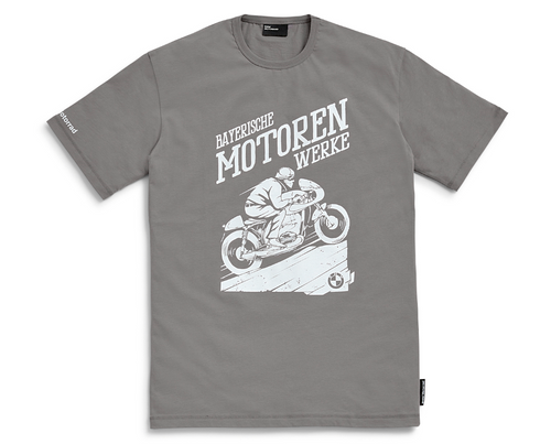 BMW T-shirt Bergkönig - Heren