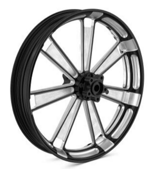 BMW R 18 Zwart Machined set wielen 3.50x21 voor 5.50x18 achter