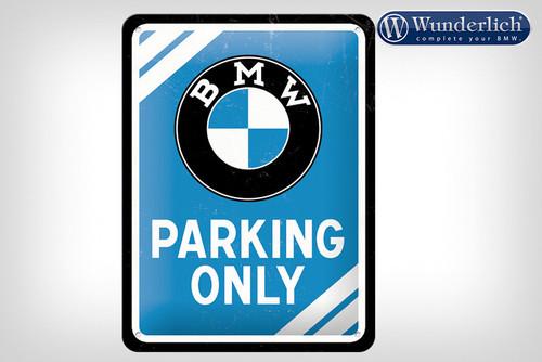 Wunderlich Metalen bord 'BMW Parking Only'