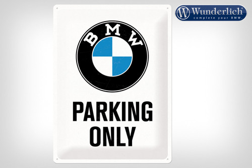 Wunderlich Metalen bord «BMW Parking Only«