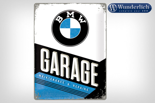 Wunderlich Metalen bord »BMW Garage«