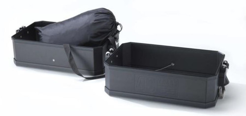 BMW Set volume-uitbreiding aluminium koffer Limited Edition 40 Years GS - Zwart