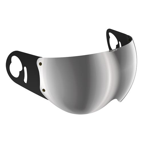 Roof Boxer V8 vizier Zilver spiegel