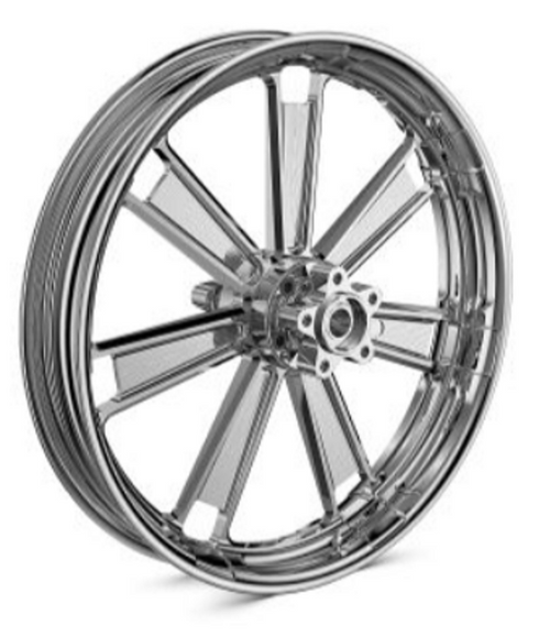 BMW R 18 Chrome-plated set wielen, 3.00x19 voor 5.00x16achter