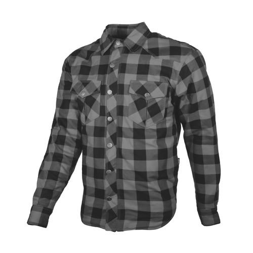 GMS Jas Jaguar - overhemd grijs/zwart