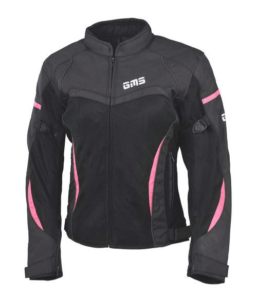 GMS Jas Tara Mesh roze/zwart