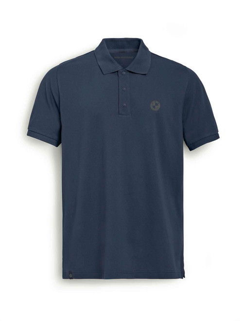 BMW Polo Shirt Logo blauw