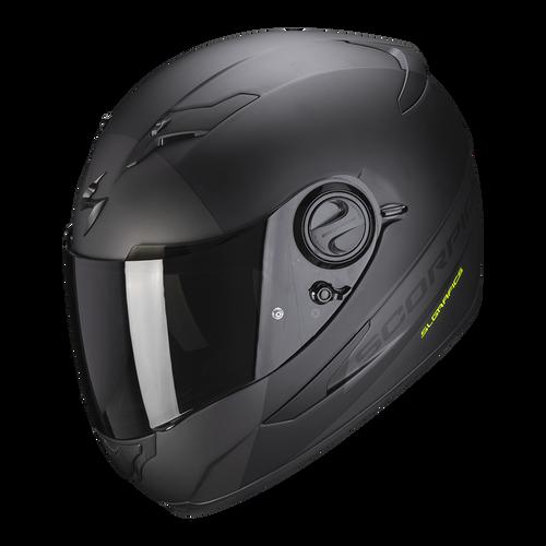 Helm Scorpion EXO 490 Pace 2 mat zwart grijs