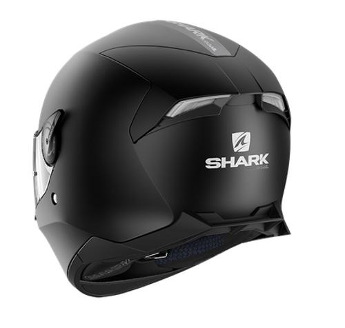 Helm Skwal 2 mat zwart KMA witte LED