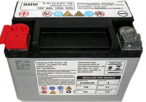BMW AGM-accu DEKA ETX9