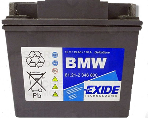 BMW Accu Exide 12V 19AH