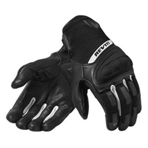 Handschoen Revit Striker 3 zwart wit