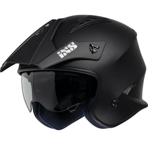 Helm IXS 114 3.0 mat zwart