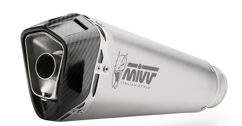 MIVV Delta Race Silencer Stainless Steel/Carbon End Cap BMW F900XR
