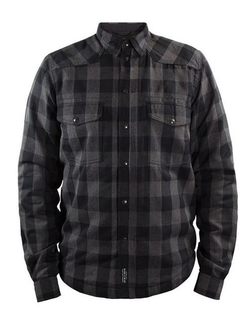 Jas John Doe Lumberjacket grijs zwart (JDL5004)