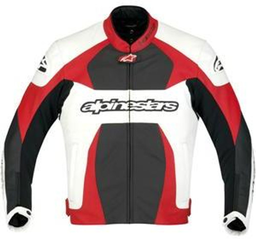 Jas Alpinestars GP Plus wit-rood-zwart (3100911-231)