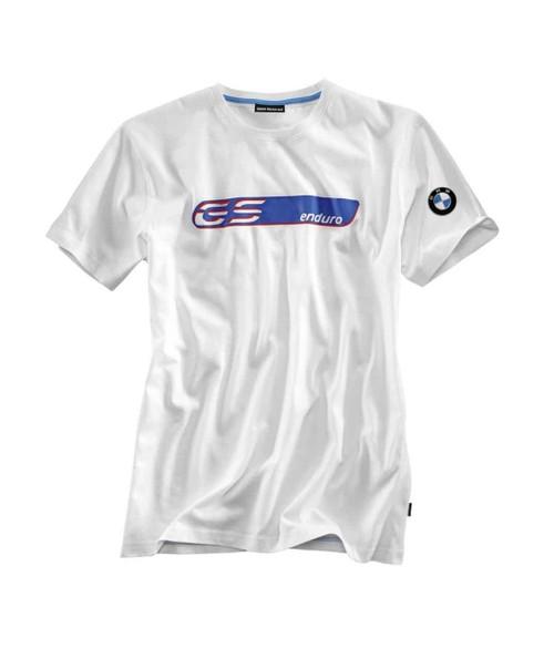 T-shirt BMW GS enduro heren wit