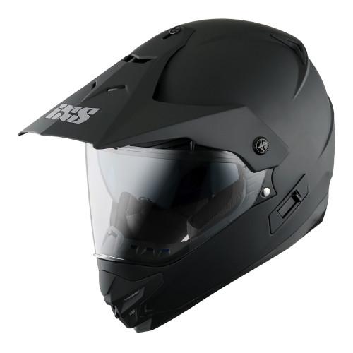 Helm IXS HX 207 matzwart (X12020-M33)