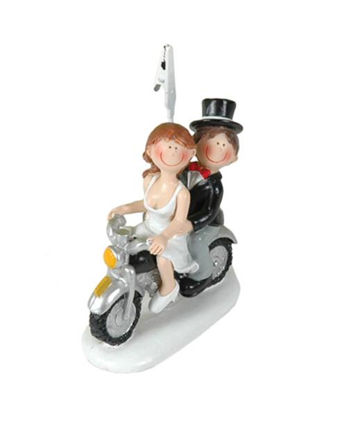 Fotohouder Booster Wedding motorbike