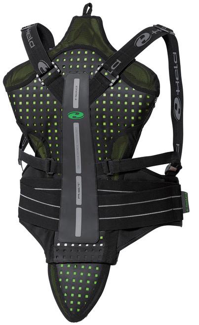 Rugprotector Held Sakari zwart/groen (9381-18)