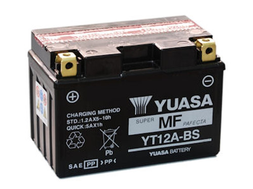 Accu Yuasa YT12A-BS (YT12ABS)