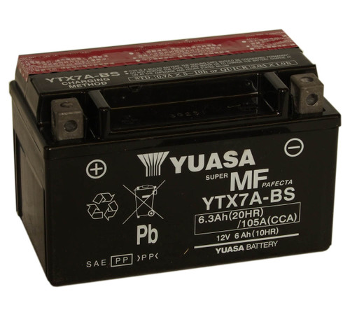 Accu Yuasa YTX7A-BS (YTX7ABS)