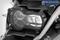 Wunderlich opklapbare koplampbescherming »CLEAR« - zwart