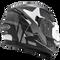 ROCC 411 Integraal helm mat zwart/grijs