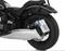 Wunderlich BMW R 18 Zij-kentekenplaathouder - zwart